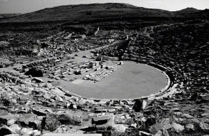 ruins of amphitheatre on Delos