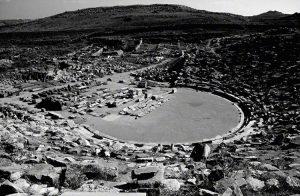 ruins of amphitheatre on Delos