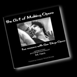 book cover, The Art of Making Opera