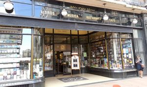 Finding a bookstore makes me feel at home