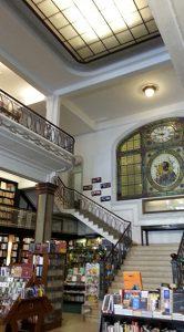 partial interior of the Mas Puro Verso libreria in Montevideo, Uruguay