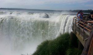 La Garganta del Diablo, or Devil's Throat, at Iguazú Falls, Argentina