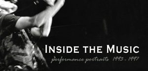 book cover, Inside the Music - jazz photography
