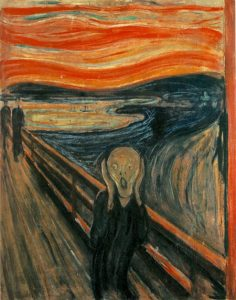 Edvard Munch's painting, The Scream