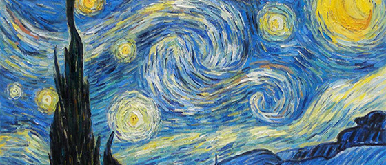 Vincent Van Gogh's painting, The Starry Night