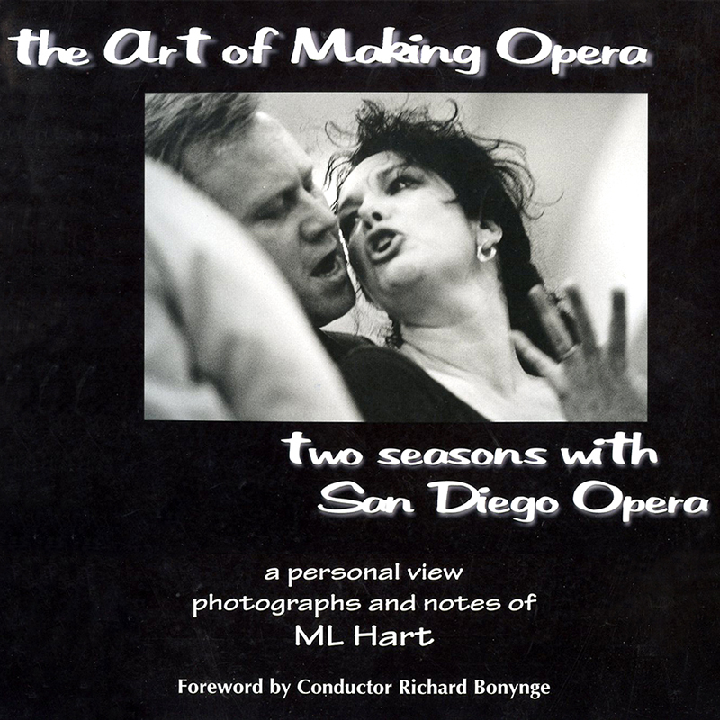 book cover - The Art of Making Opera by ML Hart