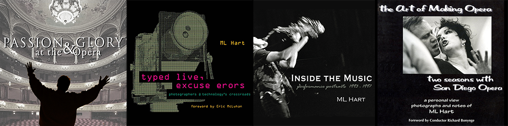 ML Hart books - montage of covers