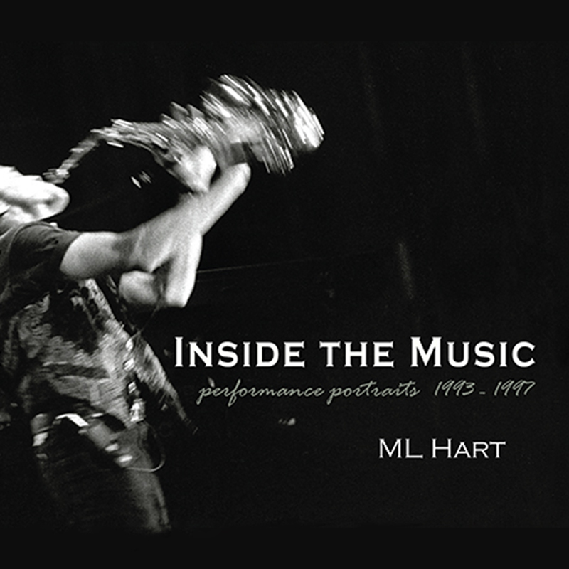 book cover - Inside the Music by ML Hart