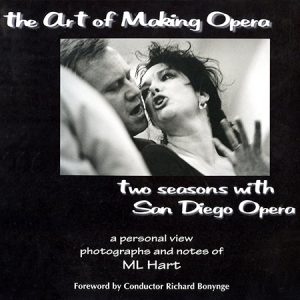 The Art of Making Opera by ML Hart book cover