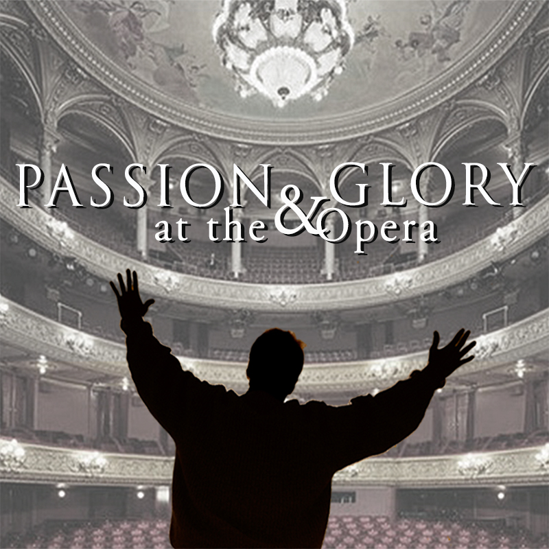 book cover - Passion & Glory at the Opera by ML Hart